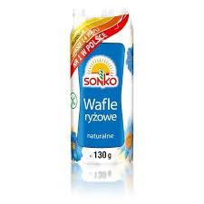ile ma kalorii  Wafle ryżowe naturalne