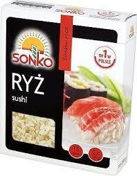 ile ma kalorii  Ryż sushi