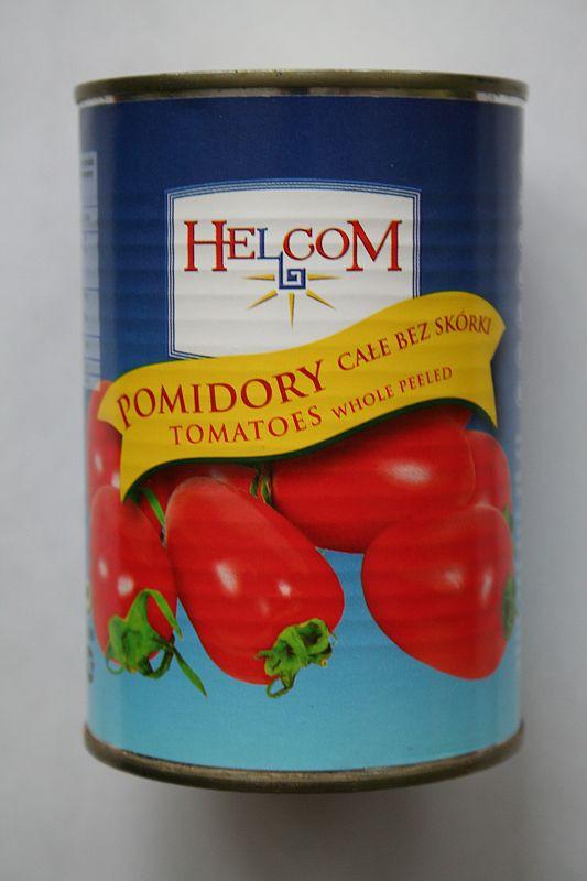 ile ma kalorii Pomidory całe bez skórki