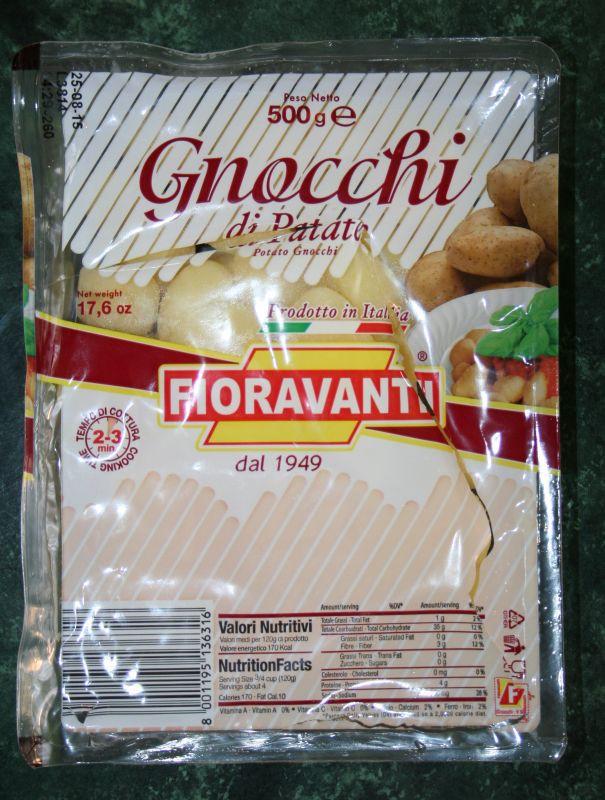 ile ma kalorii Gnocchi