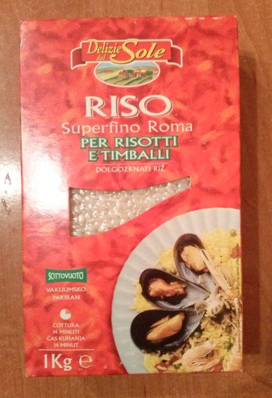 ile ma kalorii Ryż do risotto