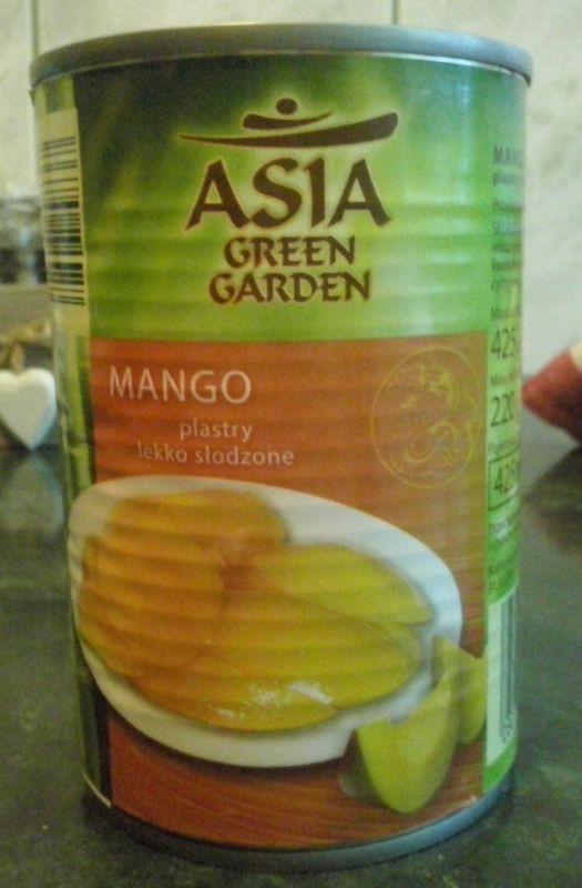 ile ma kalorii Mango plastry lekko słodzone