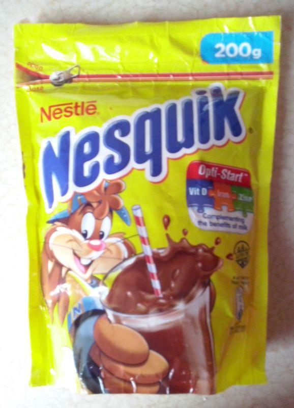 ile ma kalorii Kakao Nesquik