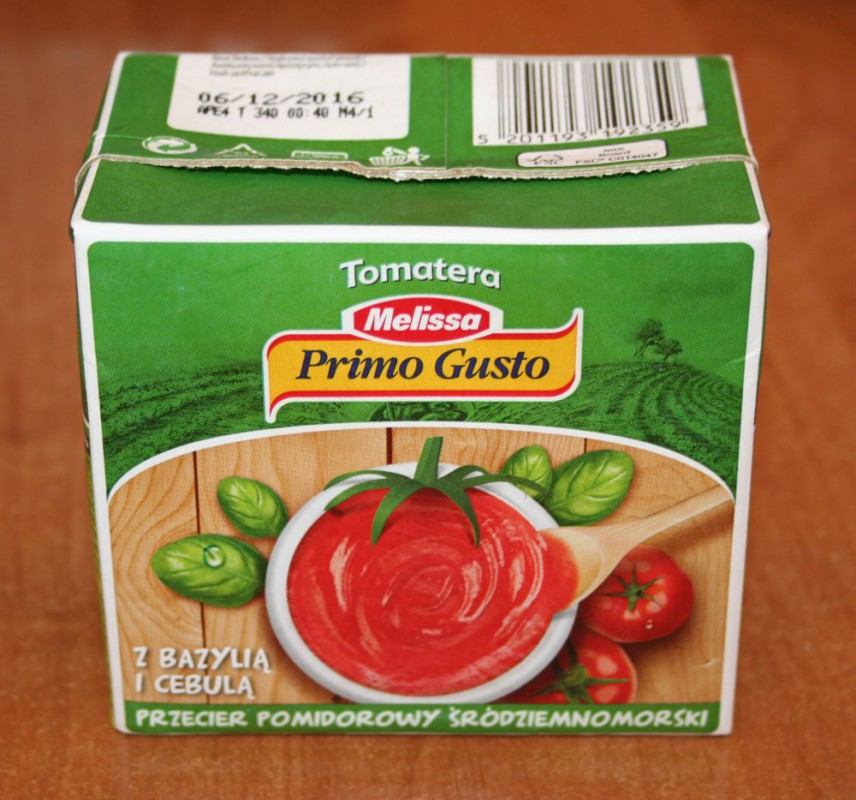ile ma kalorii Przecier pomidorowy z bazylią i cebulą