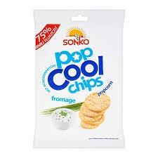 ile ma kalorii  Popcool Chips fromage