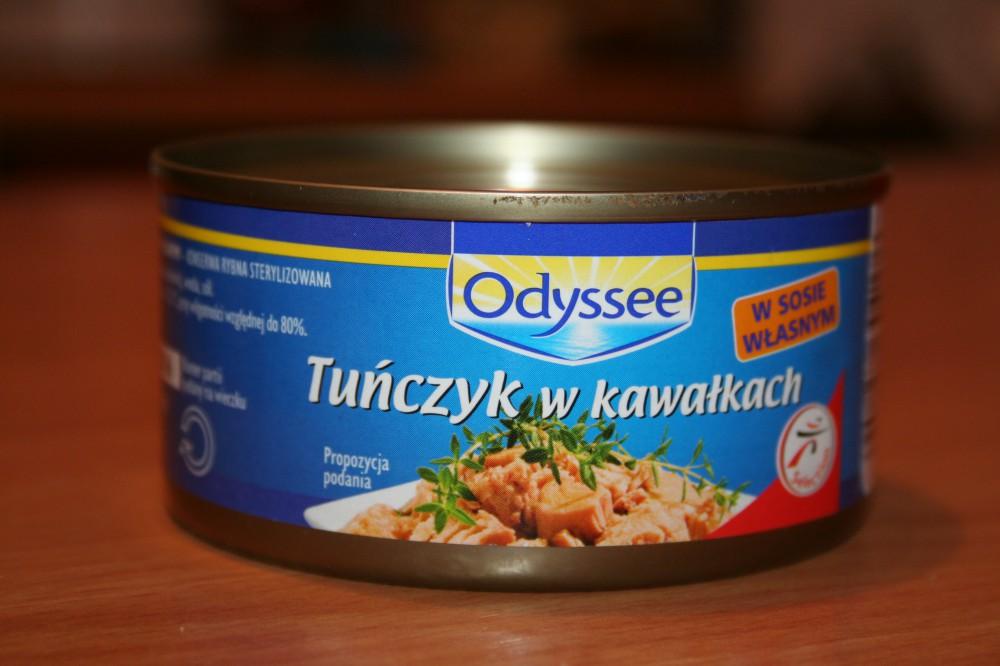 ile ma kalorii Tuńczyk w kawałkach, w sosie własnym