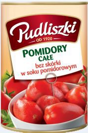 ile ma kalorii Pomidory Całe
