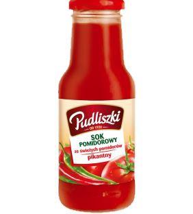 ile ma kalorii Sok pomidorowy pikantny