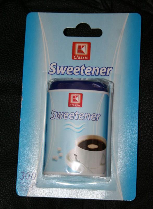 ile ma kalorii Sweetener - słodzik