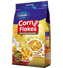 ile ma kalorii Corn Flakes pełnoziarniste