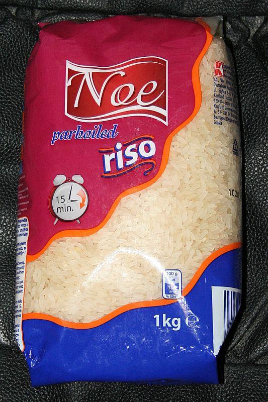 ile ma kalorii Ryż parboiled