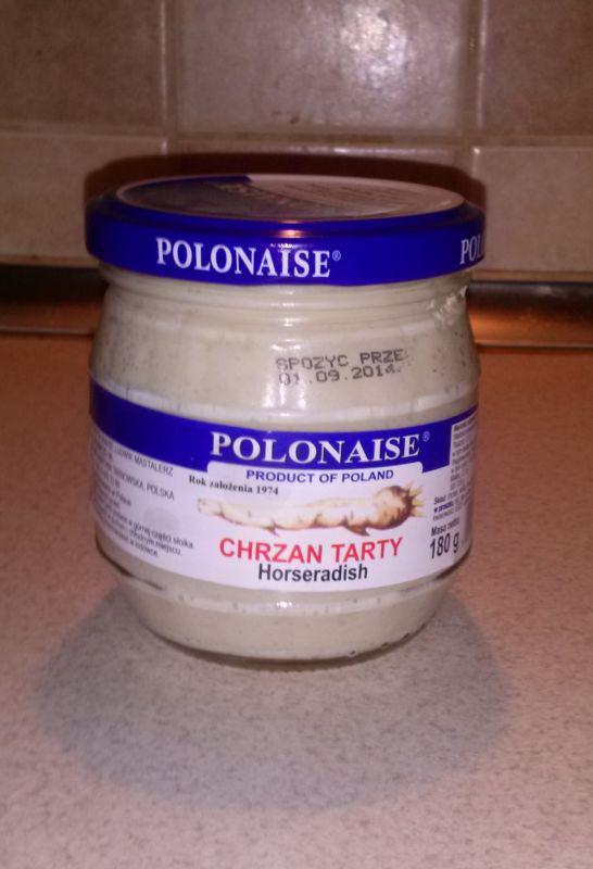ile ma kalorii Chrzan tarty