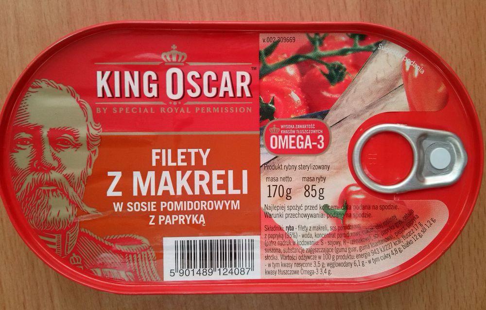 ile ma kalorii Filety z makreli w sosie pomidorowym z papryką