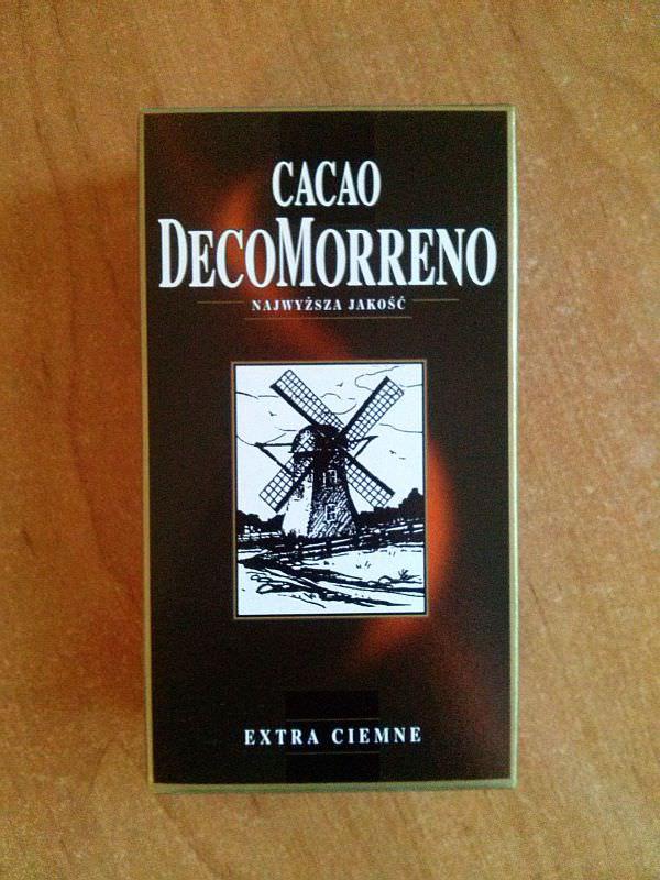 ile ma kalorii Kakao Cacao DecoMorreno
