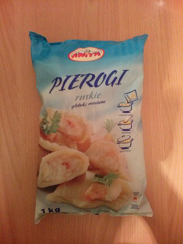 ile ma kalorii Pierogi ruskie głęboko mrożone