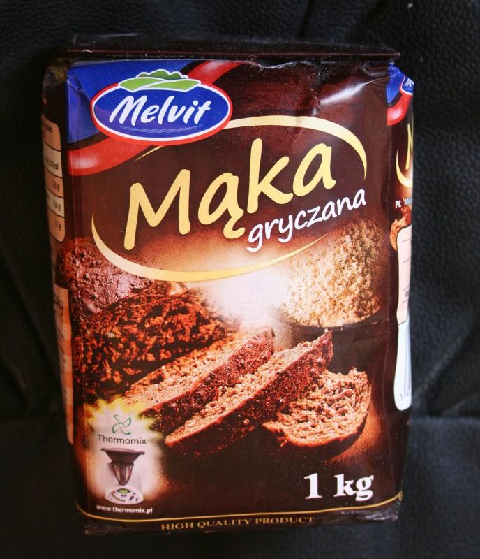 ile ma kalorii Mąka gryczana