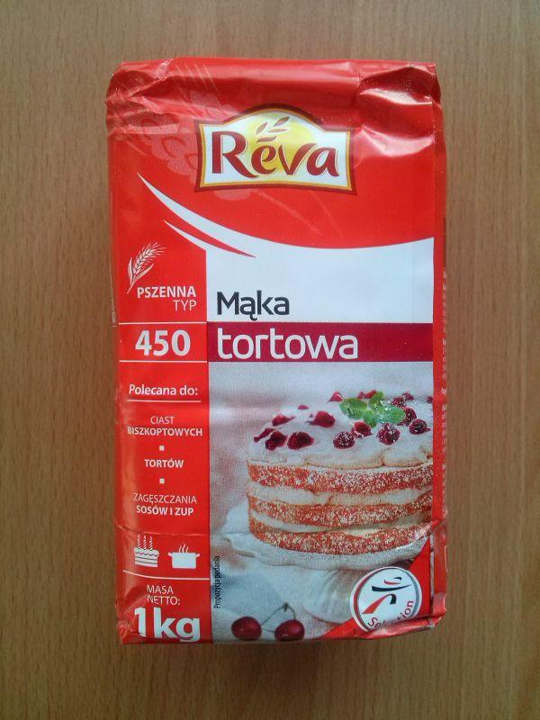 ile ma kalorii Mąka tortowa pszenna typ 450