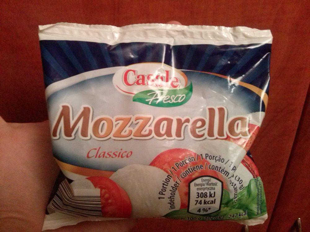 ile ma kalorii Mozzarella classico