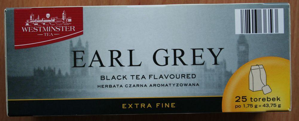 ile ma kalorii Herbata czarna Earl Grey