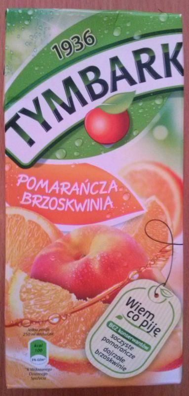 ile ma kalorii Napój z pomarańczy i brzoskwiń