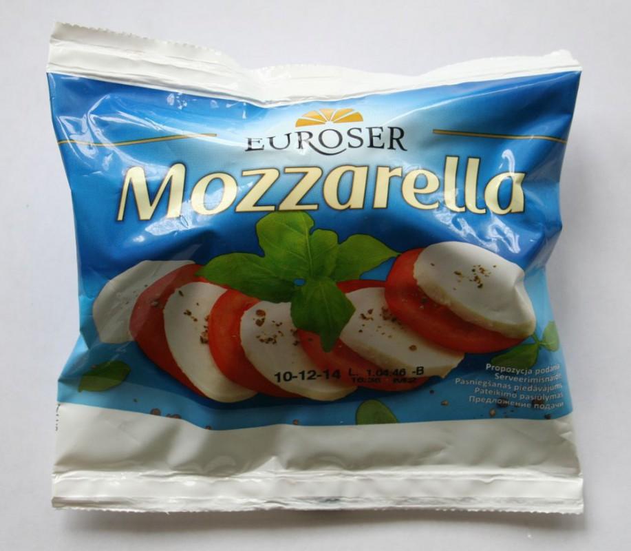 ile ma kalorii Mozzarella
