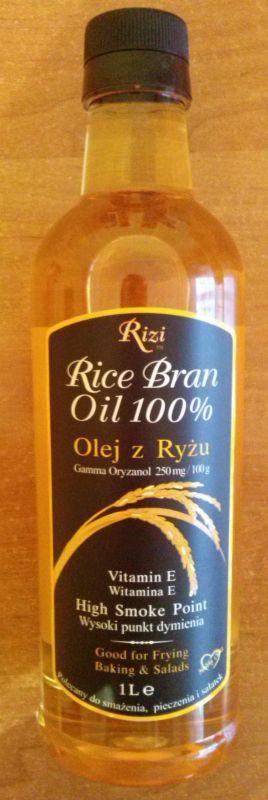 ile ma kalorii Olej z ryżu