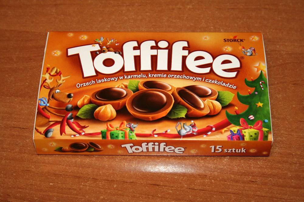 ile ma kalorii Toffifee