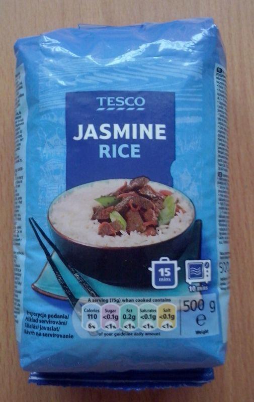 ile ma kalorii Ryż jaśminowy