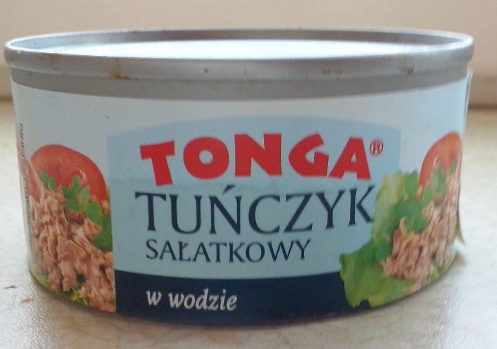 ile ma kalorii Tuńczyk sałatkowy w wodzie
