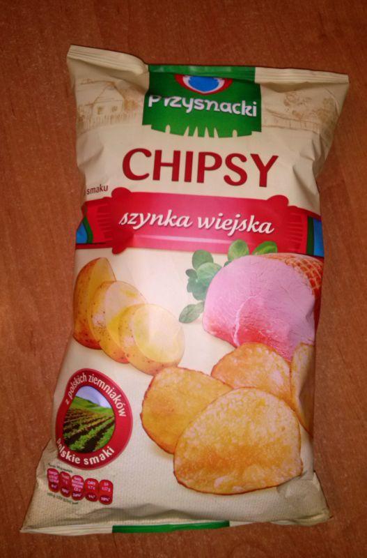 ile ma kalorii Chipsy szynka wiejska