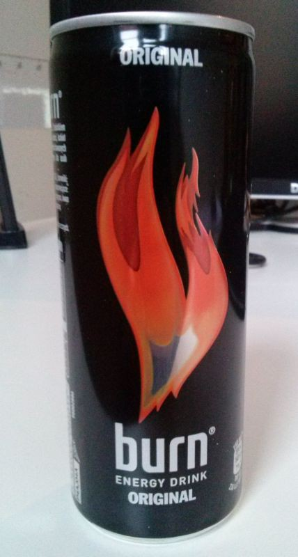 ile ma kalorii Burn - energy drink