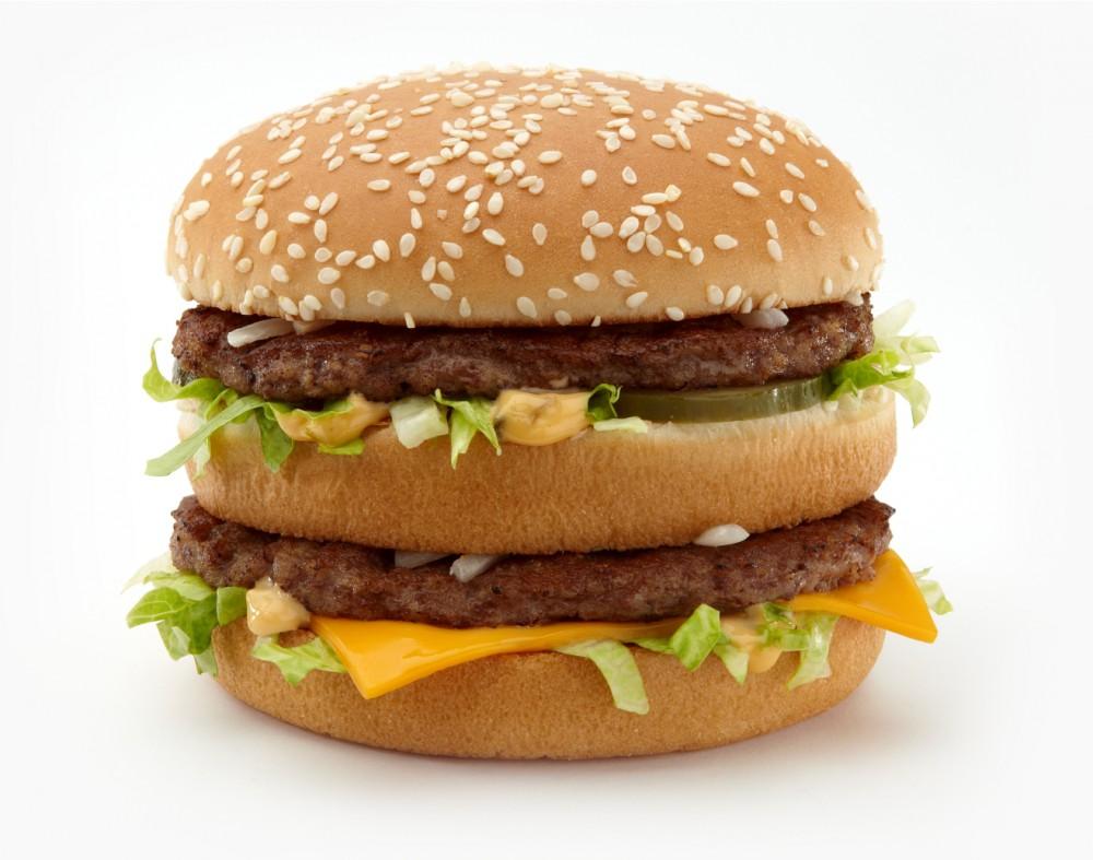 ile ma kalorii Big Mac