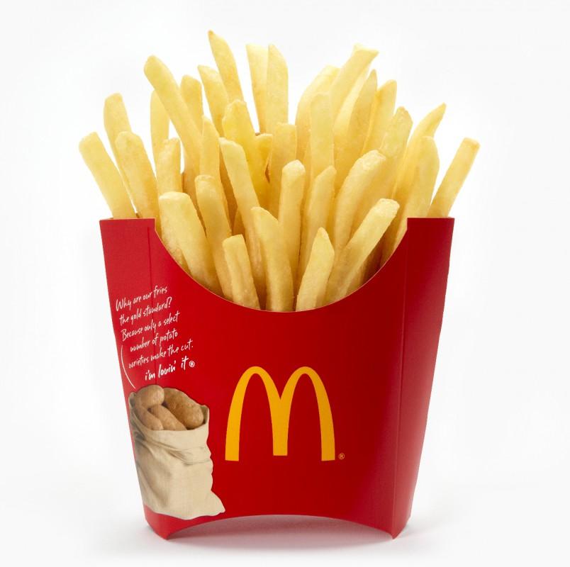 ile ma kalorii Frytki