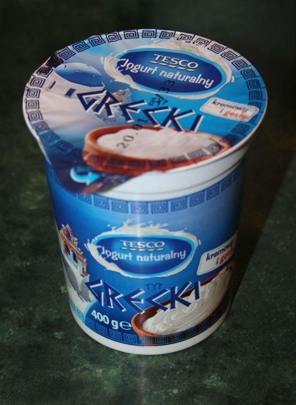 ile ma kalorii Jogurt naturalny grecki