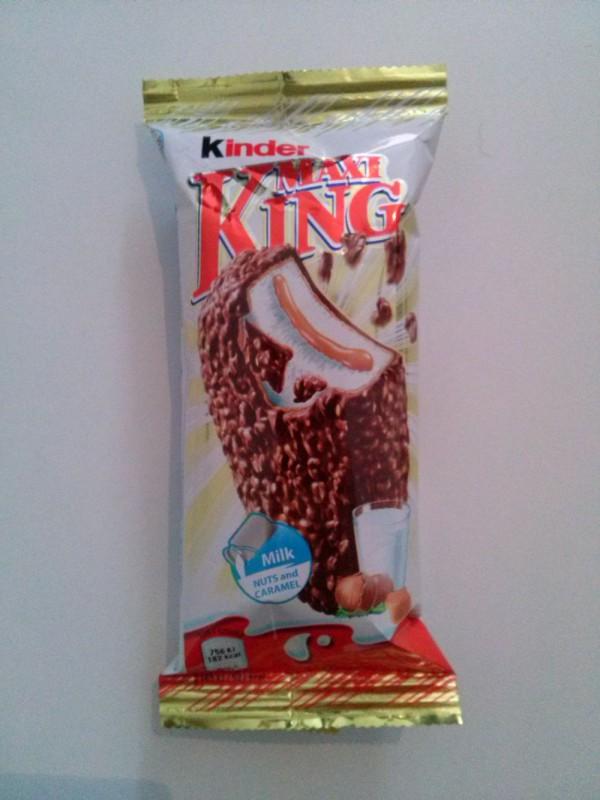 ile ma kalorii Kinder Maxi King