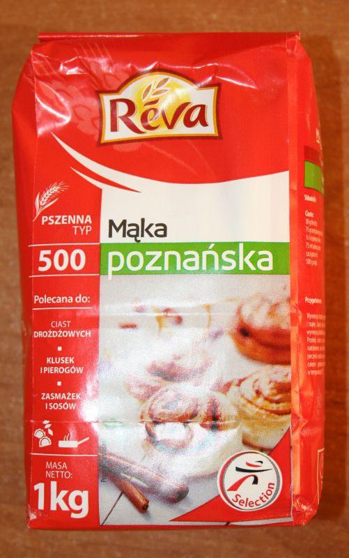 ile ma kalorii Mąka poznańska