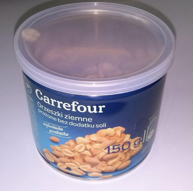 ile ma kalorii Orzeszki ziemne prażone bez dodatku soli