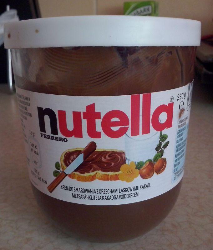 ile ma kalorii Nutella
