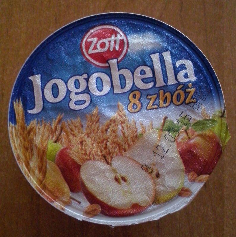 ile ma kalorii Jogobella 8 zbóż z jabłkami i gruszkami