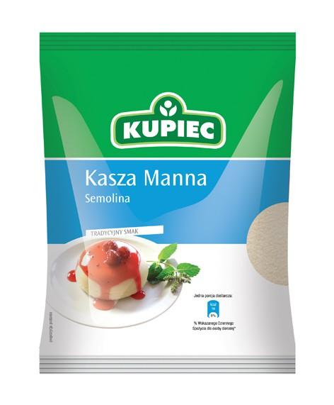 ile ma kalorii Kasza manna