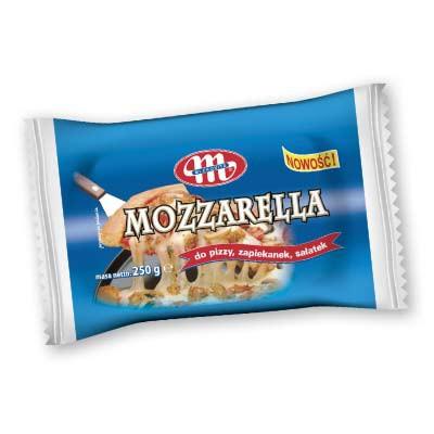 ile ma kalorii Mozarella
