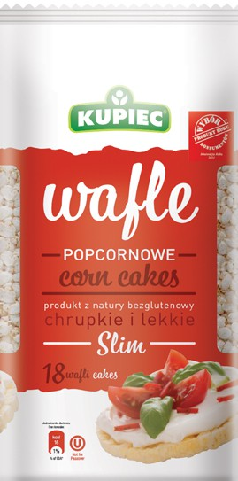 ile ma kalorii Wafle popcornowe SLIM