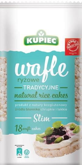 ile ma kalorii Wafle ryżowe tradycyjne SLIM